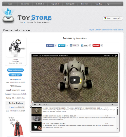 Toy Store Clone review