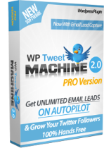 WP Tweet Machine pro version