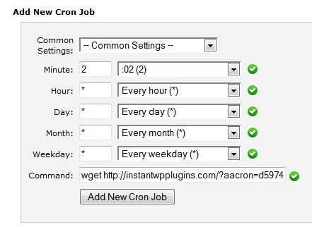 cpanel-cron-job